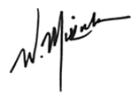 William Mikula signature
